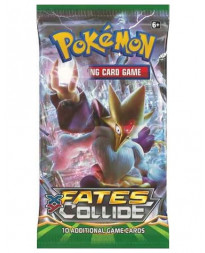 POKEMON TRADING CARD GAME FATES COLLIDE BOOSTER