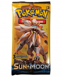SOBRE POKEMON TRADING CARD GAME SUN AND MOON ULTRA PRISM