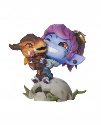 FIGURA LEAGUE OF LEGENDS TRISTANA ENTRENADORA DE DRAGONES