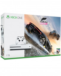 CONSOLA XBOX ONE S BLANCO 1TB FORZA HORIZON 3 BUNDLE