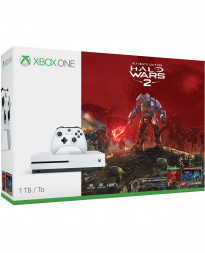 CONSOLA XBOX ONE S BLANCO 1TB HALO WARS 2 BUNDLE