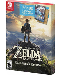 THE LEGEND OF ZELDA BREATH OF THE WILD EXPLORER EDITION