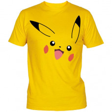 PLAYERA POKEMON PIKACHU AMARILLA MEDIANA