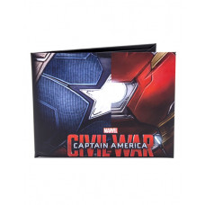 CARTERA DE PAPEL CAPITAN AMERICA CIVIL WAR