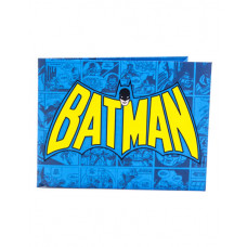 CARTERA DE PAPEL BATMAN AZUL