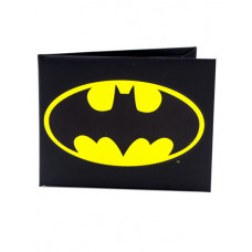 CARTERA DE PAPEL BATMAN LOGO NEGRA