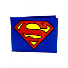 CARTERA DE PAPEL SUPERMAN LOGO AZUL