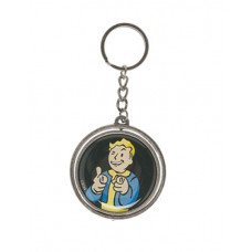 FALLOUT SPINNER KEYCHAIN