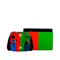 SKIN NINTENDO SWITCH MARIO AND LUIGI
