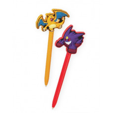 POKEMON CHARIZARD AND MEGA GENGAR STYLUS SET