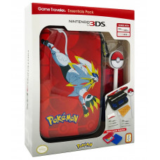 ESTUCHE 3DS POKEMON SOLGALEO POKEBALL STYLUS