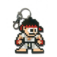 SUPER STREET FIGHTER IV 8 BIT RYU KEYCHAIN