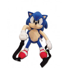 SONIC THE HEDGEHOG 14.5 INCHES PLUSH BACKPACK