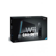 CONSOLA NINTENDO WII NEGRO CON CALL OF DUTY BLACK OPS