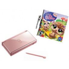 CONSOLA NINTENDO DS LITE ROSA METALICO LITTLEST PET SHOP