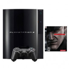 CONSOLA PLAYSTATION 3 NEGRO 80GB METAL GEAR SOLID 4 GUNS OF THE PATRIOTS