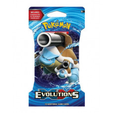 POKEMON TRADING CARD GAMES EVOLUTIONS SLEEVED BOOSTER