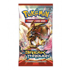 SOBRE POKEMON TRADING CARD GAME XY BREAKTHROUGH