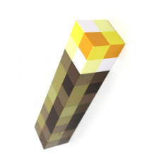 LAMPARA MINECRAFT WALL TORCH