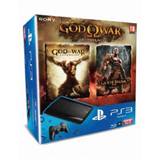 CONSOLA NUEVO PLAYSTATION 3 SLIM NEGRO 12GB GOD OF WAR COLLECTION