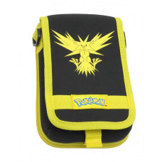 ESTUCHE DE TELA NEW 3DS XL POKEMON ZAPDOS NEGRO Y AMARILLO