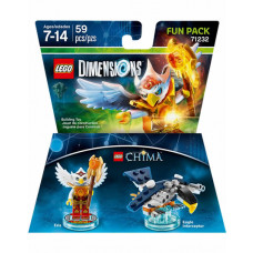 LEGO DIMENSIONS PAQUETE DE DIVERSION CHIMA ERIS