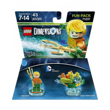 LEGO DIMENSIONS PAQUETE DE DIVERSION DC COMICS AQUAMAN