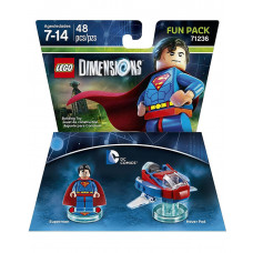 LEGO DIMENSIONS PAQUETE DE DIVERSION DC COMICS SUPERMAN