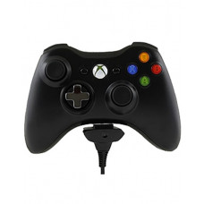 XBOX 360 BLACK CONTROLLER BUNDLE