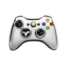 XBOX 360 WIRELESS CONTROLLER CHROME SILVER