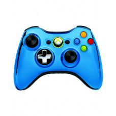 XBOX 360 WIRELESS CONTROLLER CHROME BLUE