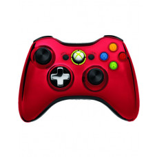 XBOX 360 WIRELESS CONTROLLER CHROME RED