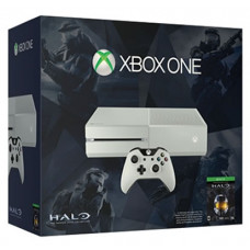 CONSOLA XBOX ONE BLANCO 500GB CON HALO THE MASTER CHIEF COLLECTION