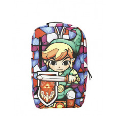 ZELDA WIND WAKER STAINED GLASS BACKPACK