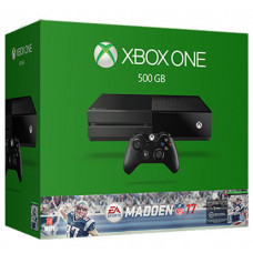 CONSOLA XBOX ONE NEGRO 500GB MADDEN NFL17