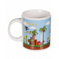SONIC ARCADE HEAT SENSITIVE MUG