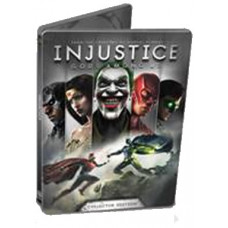 INJUSTICE GODS AMONG US STEELBOOK