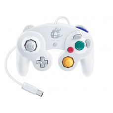 GAMECUBE CONTROLLER WHITE SMASH BROS EDITION