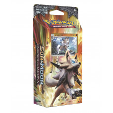 DECK POKEMON TRADING CARD GAME SUN AND MOON BURNING SHADOWS LYCANROC