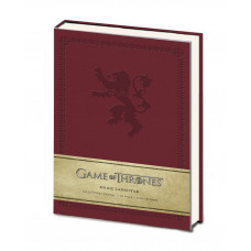 LIBRETA GAME OF THRONES CASA LANNISTER ROJA