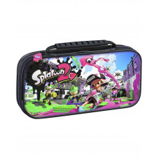 ESTUCHE RIGIDO NINTENDO SWITCH SPLATOON 2 NEGRO