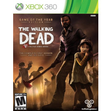 THE WALKING DEAD GAME OF YEAR EDITION.