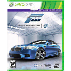 FORZA MOTORSPORT 4 COLLECTORS EDITION