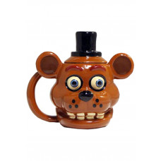 TAZA CON FORMA FIVE NIGHTS AT FREDDYS