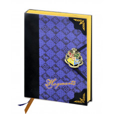 LIBRETA HARRY POTTER HOGWARTS AZUL