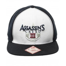 GORRA SNAPBACK ASSASSINS CREED III LOGO