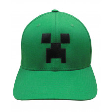 GORRA FLEX MINECRAFT CARA CREEPER AJUSTABLE