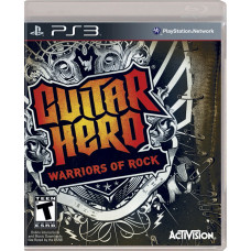 GUITAR HERO WARRIORS OF ROCK SOFTWARE