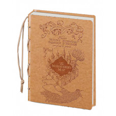 LIBRETA HARRY POTTER EL MAPA DEL MERODEADOR CAFE