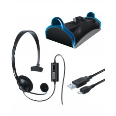 CHARGE AND CHAT BUNDLE BLACK